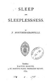 Sleep and Sleeplessness