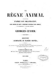 Le règne animal distribué d'après son organisation: Volume14