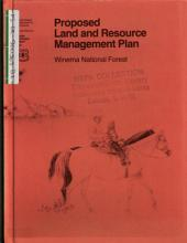 Winema National Forest (N.F.), Land and Resource(s) Management Plan (LRMP): Environmental Impact Statement