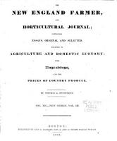 The New England Farmer PDF