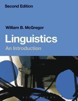 Linguistics  An Introduction PDF