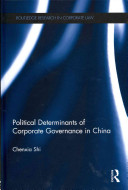 Political Determinants of Corporate Governance in China PDF