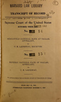 Records and Briefs of the United States Supreme Court PDF
