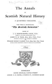 The Annals of Scottish Natural History: Issues 5-8