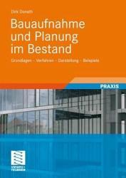 Bauaufnahme und Planung im Bestand PDF