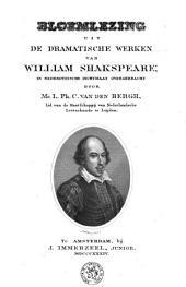Bloemlezing uit de dramatische werken van William Shakespeare