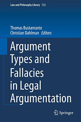 Argument Types and Fallacies in Legal Argumentation PDF