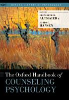 The Oxford Handbook of Counseling Psychology PDF