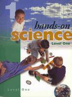 Hands On Science  Level 1 PDF