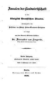 Annalen der Landwirthschaft in den Königlich Preußischen Staaten: Band 7