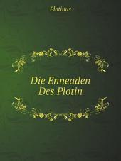 Die Enneaden Des Plotin: Band 1