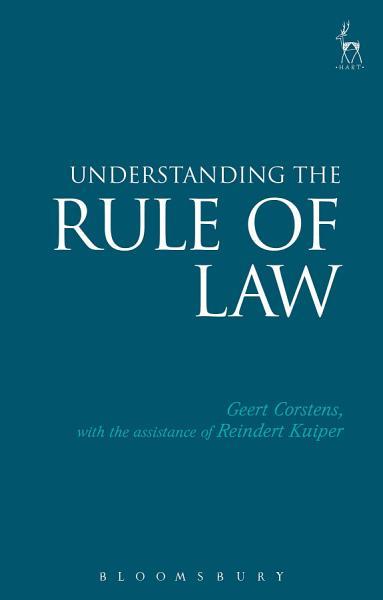 Download Understanding the Rule of Law Book