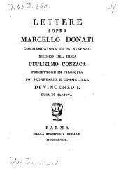 Lettere sopra Marcello Donati