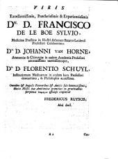 Frederici Ruyschii ... Dilucidatio. Valvularum in vasis lymphaticis. Et et lacteis ... Accesserunt. Quaedam observationes anatomicae rariores