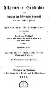 Allgemeine Geschichte vom Anfang der historischen Kenntniß bis auf unsere Zeiten: Band 7
