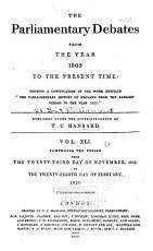 The Parliamentary Debates  v  1 41  Nov  1803 PDF