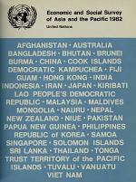 Economic and Social Survey of Asia and the Pacific 1982