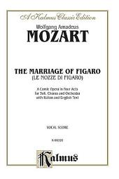 The Marriage of Figaro: Vocal (Opera) Score