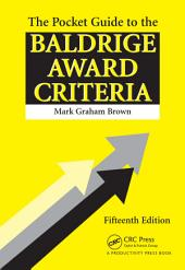 The Pocket Guide to the Baldrige Criteria (5-Pack): Edition 15