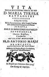 Vita di Maria Teresa Battaglini