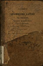 Élèments de la grammaire latine