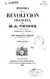 Historia de la Revolucion francesa: Volumen 8