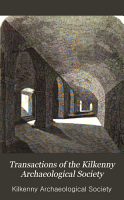 Transactions of the Kilkenny Archaeological Society PDF