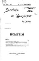 Boletim   Sociedade de Geografia de Lisboa PDF