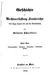 Geschichte Der Rechtsverfassung Frankreichs: Band 4