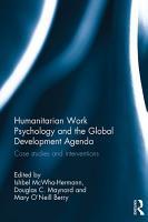 Humanitarian Work Psychology and the Global Development Agenda PDF