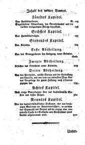 Untersuchungen über die Natur und die Ursachen des Nationalreichtums: Band 3