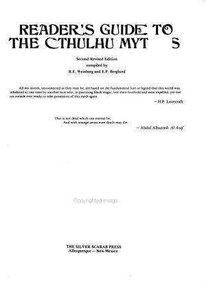 Reader s Guide to the Cthulhu Mythos