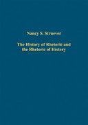 The History of Rhetoric and the Rhetoric of History