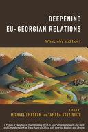 Deepening Eu-Georgian Relations