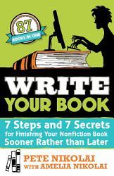 Write Your Book Book PDF