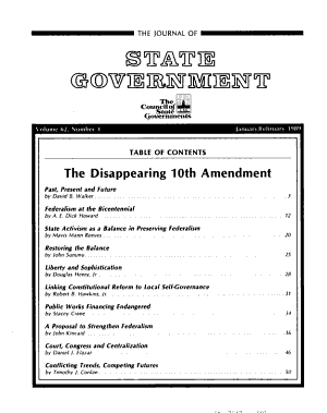 The Journal of State Government PDF
