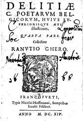 Delitiae C. poetarum belgicorum, huius superiorisque aevi illustrium. Collectore Ranutio Ghero (Jano Gruter)