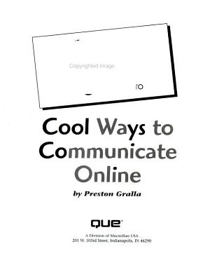 The Complete Idiot s Guide to Cool Ways to Communicate Online PDF