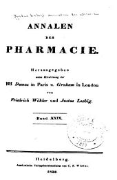 Justus Liebig's Annalen der Chemie: Bände 29-30
