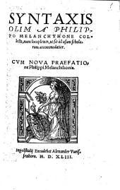 Syntaxis: Item de periodis et prosodia