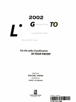2002 Guide to Literary Agents