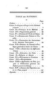 Plan d'éducation pour les enfants pauvres: d'après les deux méthodes combinées du docteur Bell et de M. Lancaster