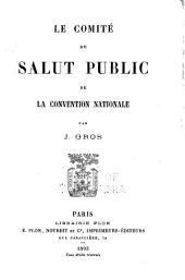 Le comité de salut public de la convention nationale