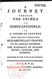 A journey through the Crimea to Constantinople in a series of letters...