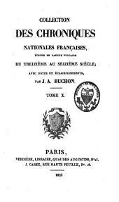Les chroniques: ... poésies, Volume19