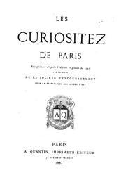 Les curiositez de Paris...