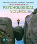 An Introduction to Psychological Science  Second Canadian Edition  Loose Leaf Version