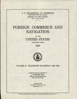 Foreign Commerce and Navigation of the United States PDF