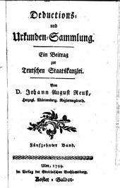 Teutsche Staatskanzlei: Band 15