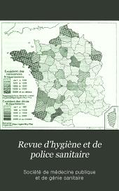 Revue d'hygiène et de police sanitaire: Volume28